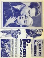 The Princess Comes Across movie poster (1936) picture MOV_f9af083a