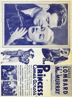 The Princess Comes Across movie poster (1936) poster MOV_f9af083a
