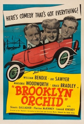 Brooklyn Orchid movie poster (1942) poster MOV_f9bff359
