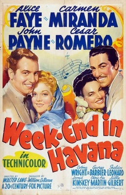 Week-End in Havana movie poster (1941) poster MOV_f9d463f4