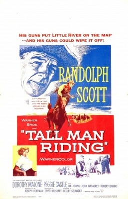 Tall Man Riding movie poster (1955) poster MOV_f9da10d5