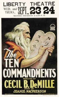 The Ten Commandments movie poster (1923) poster MOV_f9f9d78e