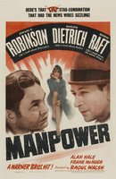Manpower movie poster (1941) picture MOV_fa009d21