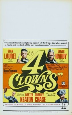 4 Clowns movie poster (1970) poster MOV_fa02fa24