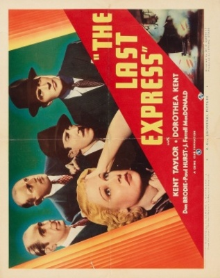 The Last Express movie poster (1938) poster MOV_fa37193b