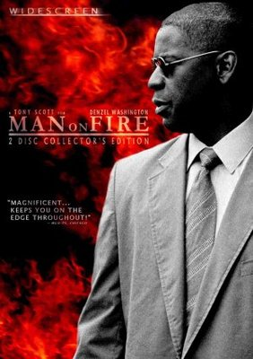 Man On Fire movie poster (2004) poster MOV_fa4a2344