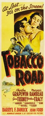 Tobacco Road movie poster (1941) poster MOV_fa602a44
