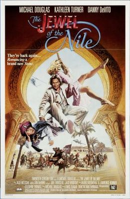 The Jewel of the Nile movie poster (1985) poster MOV_fa75aa42
