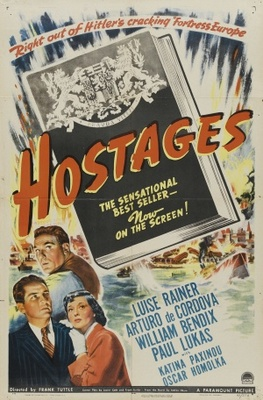 Hostages movie poster (1943) poster MOV_fa7ab931