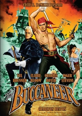The Buccaneer movie poster (1958) poster MOV_fab1f822