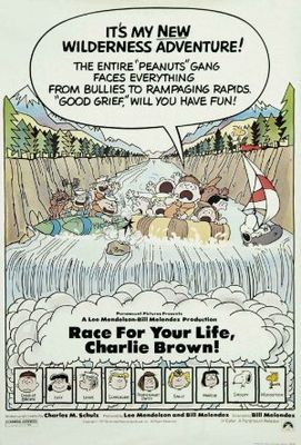 Race for Your Life, Charlie Brown movie poster (1977) poster MOV_fac6a2d7