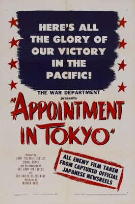 Appointment in Tokyo movie poster (1945) poster MOV_fad4b9f8
