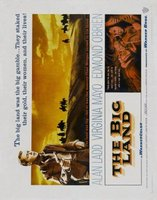 The Big Land movie poster (1957) picture MOV_fb142b08