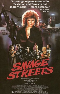 Savage Streets movie poster (1984) poster MOV_fb191602
