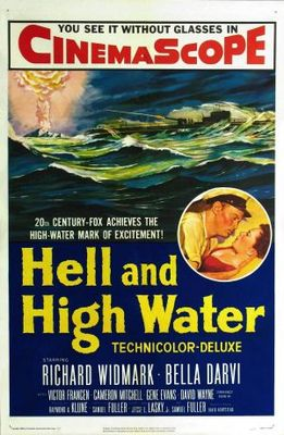 Hell and High Water movie poster (1954) poster MOV_fb367a2d