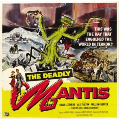 The Deadly Mantis movie poster (1957) poster MOV_fb42ec0f