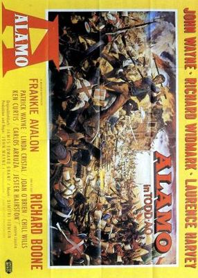 The Alamo movie poster (1960) poster MOV_fb4941bc