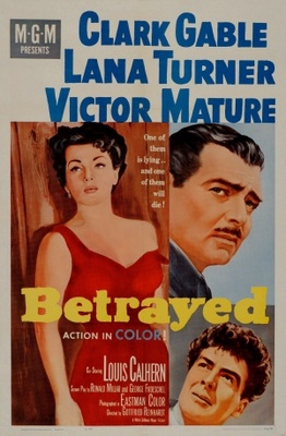 Betrayed movie poster (1954) poster MOV_fb4a0dae