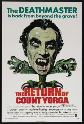The Return of Count Yorga movie poster (1971) poster MOV_fb541c83