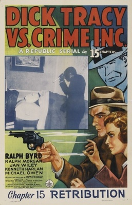 Dick Tracy vs. Crime Inc. movie poster (1941) poster MOV_fb560b5a