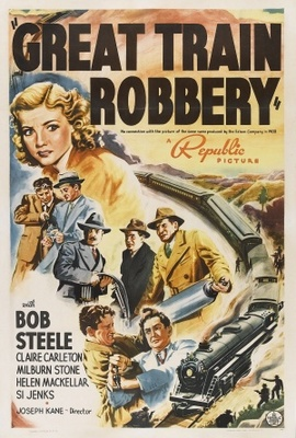 The Great Train Robbery movie poster (1941) poster MOV_fb5b5180