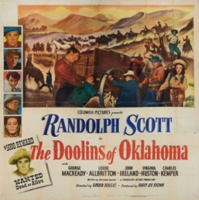 The Doolins of Oklahoma movie poster (1949) poster MOV_fb85c1fe