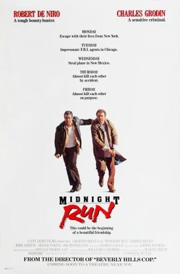 Midnight Run movie poster (1988) poster MOV_fb8aac24