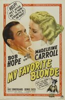 My Favorite Blonde movie poster (1942) picture MOV_fb98cec9