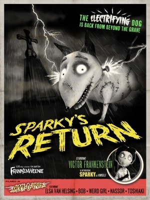 Frankenweenie movie poster (2012) poster MOV_fb999eb7