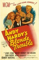 Andy Hardy's Blonde Trouble movie poster (1944) picture MOV_fba8678e