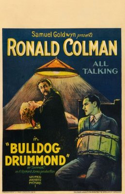 Bulldog Drummond movie poster (1929) poster MOV_fbc840e9