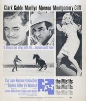 The Misfits movie poster (1961) picture MOV_fbf5b94c