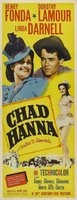 Chad Hanna movie poster (1940) picture MOV_fc059aca