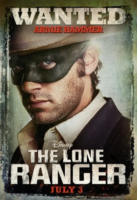 The Lone Ranger movie poster (2013) poster MOV_fc0a534b