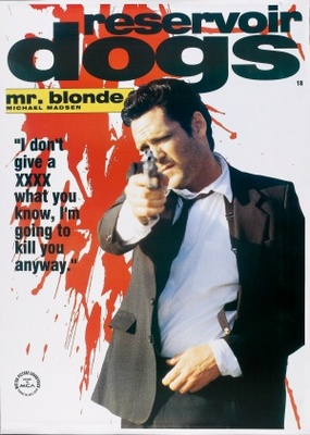 Reservoir Dogs movie poster (1992) poster MOV_fc27324a