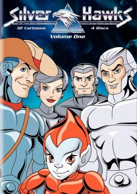 Silverhawks movie poster (1986) poster MOV_fc31b744