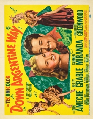 Down Argentine Way movie poster (1940) poster MOV_fc342e69