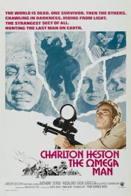 The Omega Man movie poster (1971) poster MOV_fc4b56ac