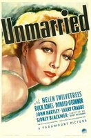 Unmarried movie poster (1939) picture MOV_fc6c26e9