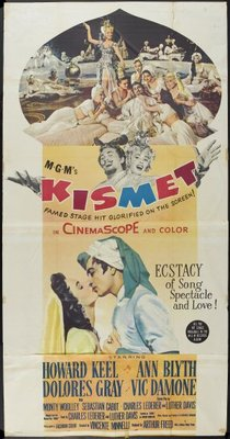Kismet movie poster (1955) poster MOV_fc6f0436