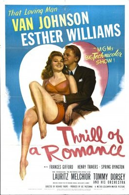 Thrill of a Romance movie poster (1945) poster MOV_fc8a3219