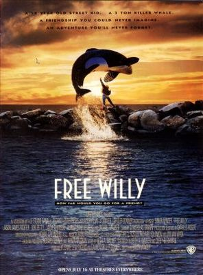 Free Willy movie poster (1993) poster MOV_fc92629a