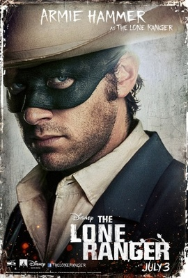 The Lone Ranger movie poster (2013) poster MOV_fcb20e81