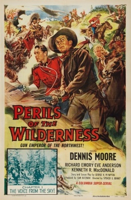 Perils of the Wilderness movie poster (1956) poster MOV_fcc17b91