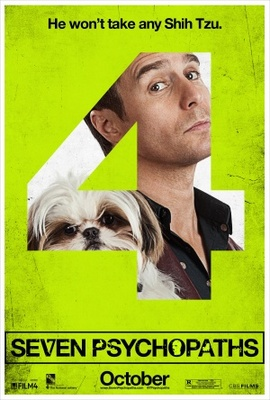 Seven Psychopaths movie poster (2012) poster MOV_fcc89cfe