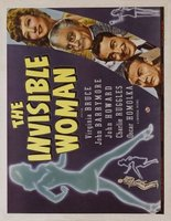 The Invisible Woman movie poster (1940) picture MOV_fccc62f9