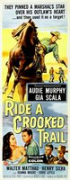 Ride a Crooked Trail movie poster (1958) picture MOV_fce66222
