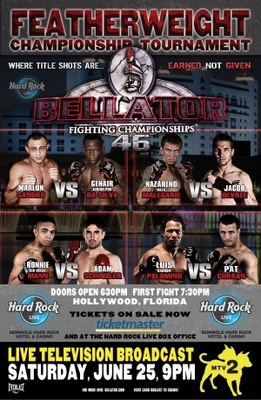 Bellator Fighting Championships movie poster (2009) poster MOV_fce6f667