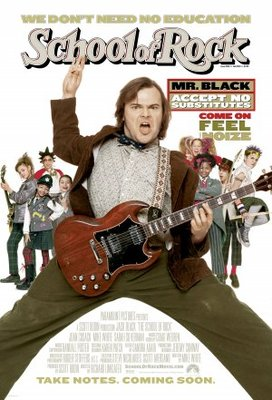 The School of Rock movie poster (2003) poster MOV_fcf54452