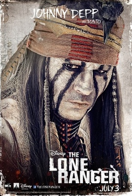 The Lone Ranger movie poster (2013) poster MOV_fcff5ce2